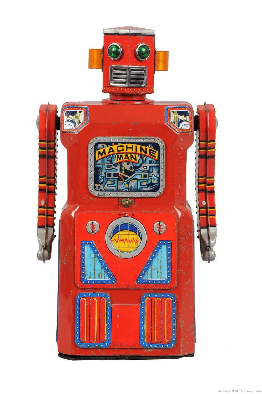 Masudaya toy robot, $45,600, Morphy's