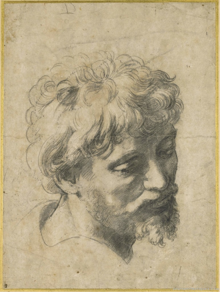 Raphael chalk drawing, $47.9 million, Sotheby's