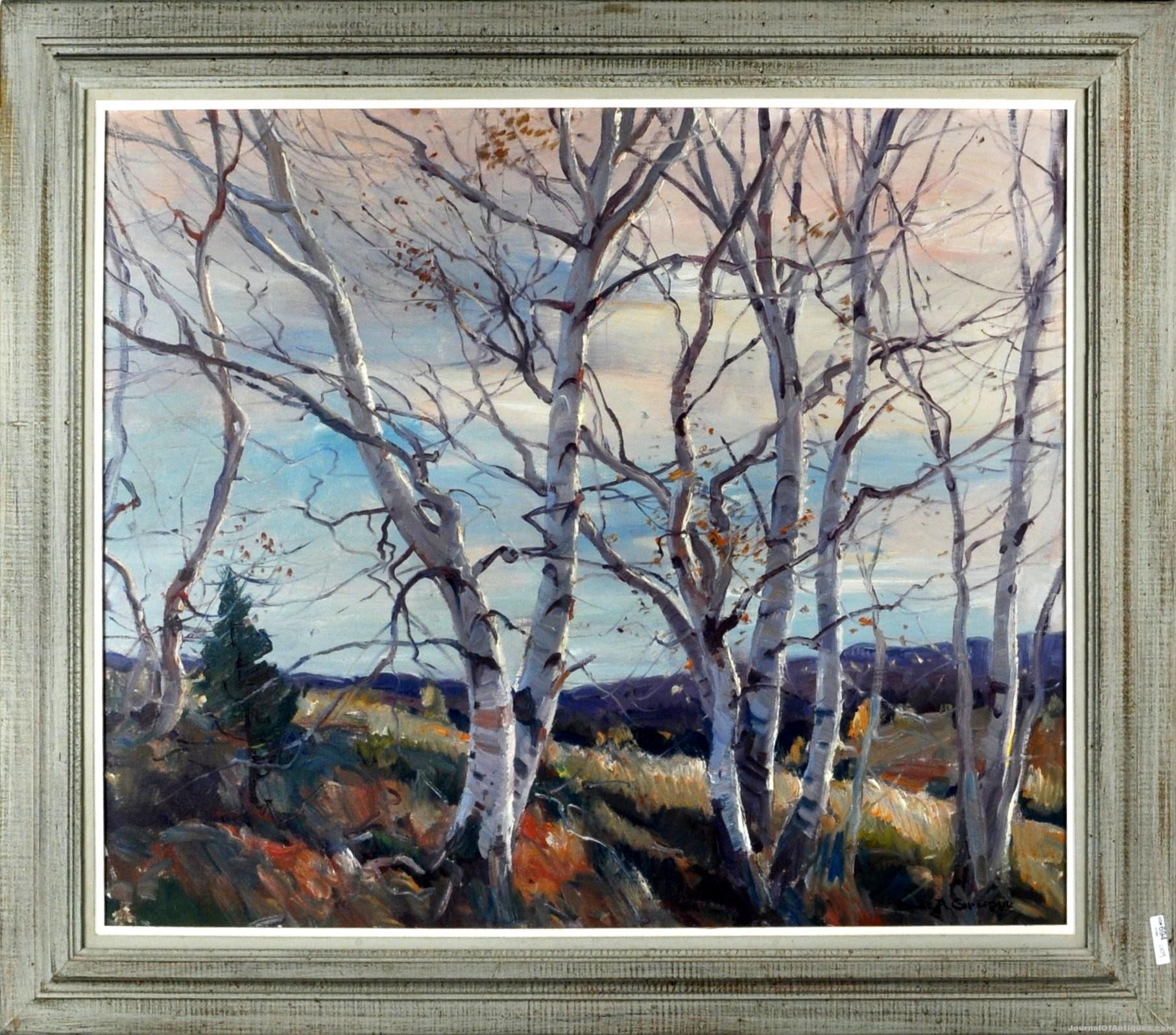 Two Emile Gruppe artworks, $21,000, Woodbury Auction