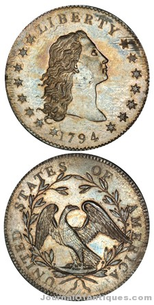 Ken's Korner: 1794 silver dollar hits $10 million+