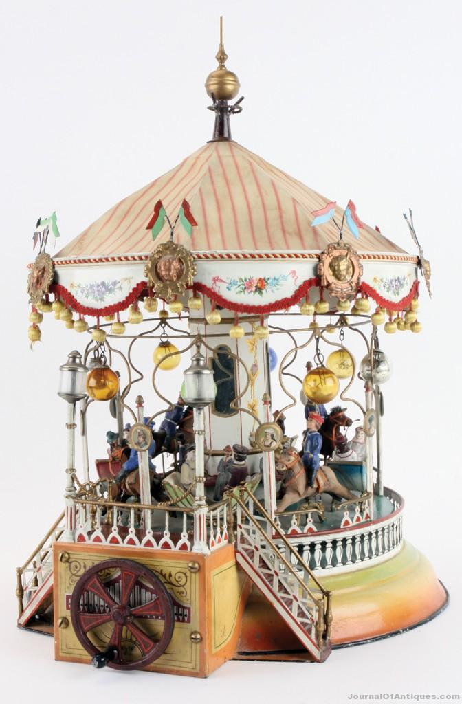 1910 Marklin carousel, $218,500, Noel Barrett