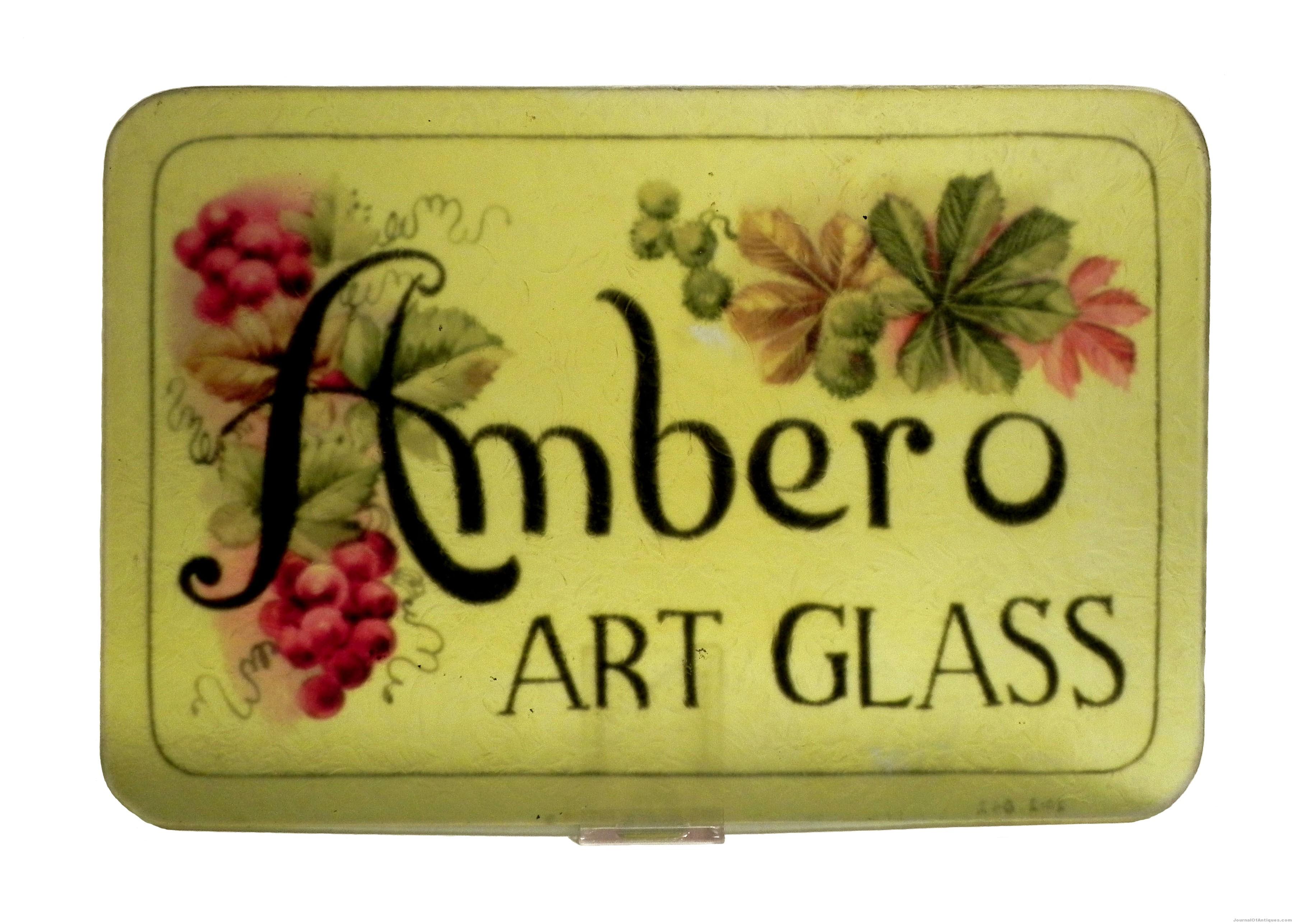 Ambero Advertising Plaque
