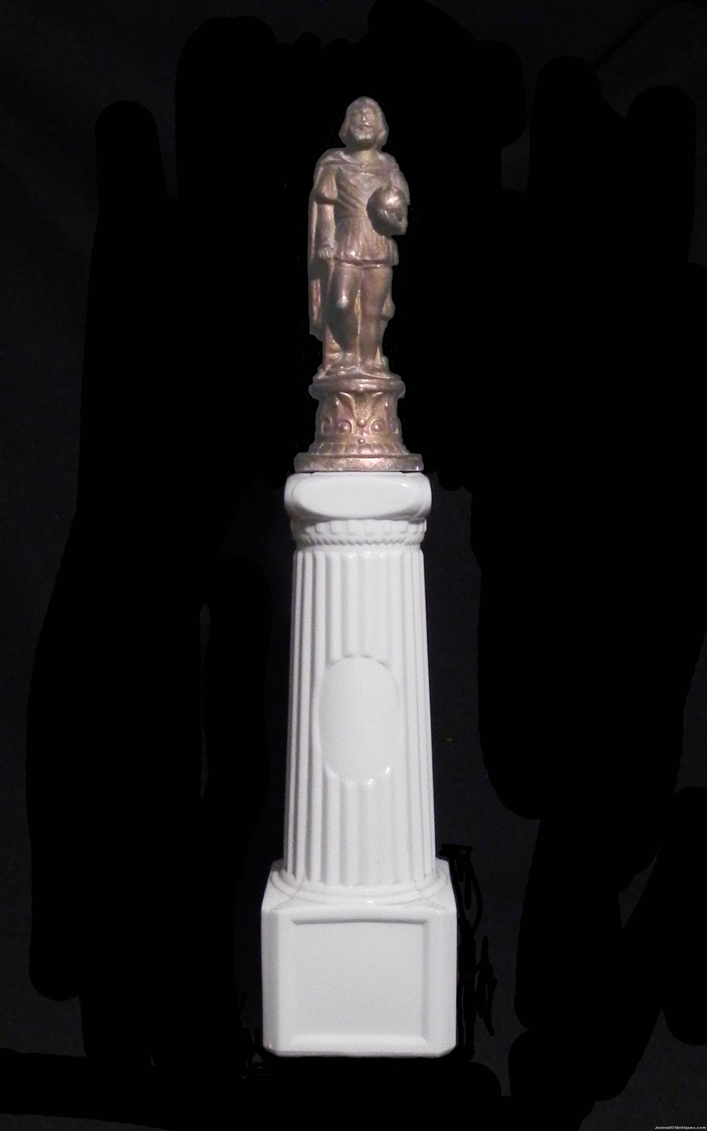 Statue of Columbus Bottle