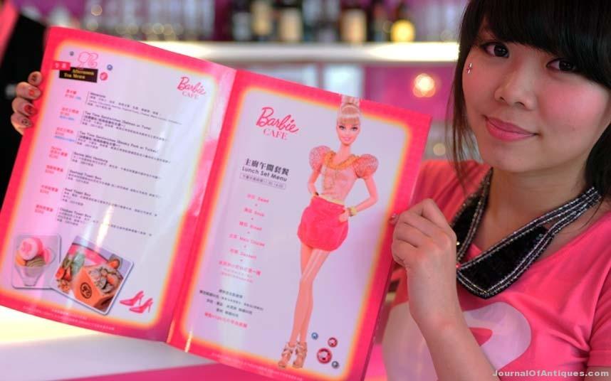 Ken's Korner: Barbie-themed café opens in Taiwan