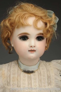 French bisque bebe doll, $18,000, Morphy Auctions