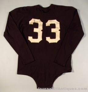 Sammy Baugh jersey, $109,250, Hunt Auctions