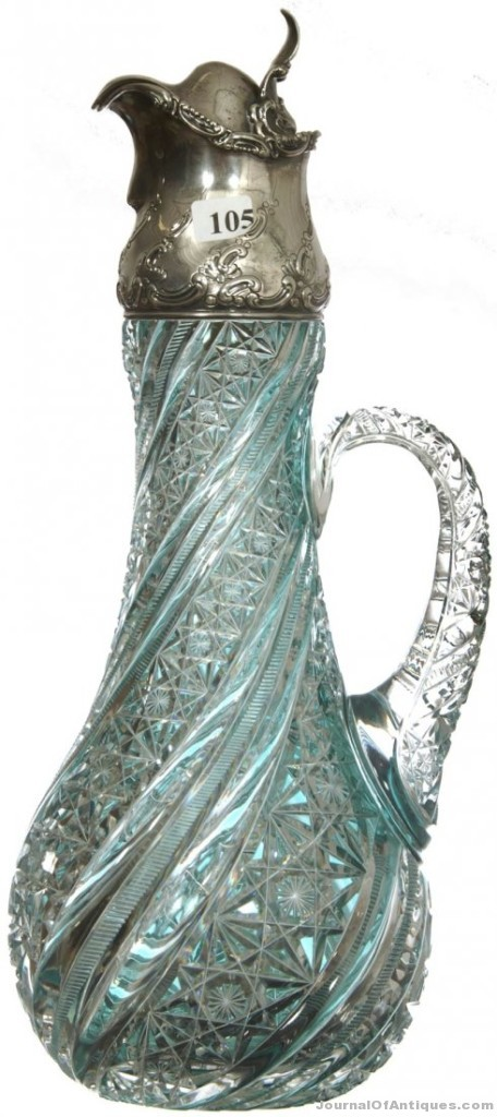 J. Hoare claret jug, $75,000, Woody Auction