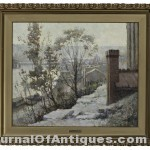 Paul Sawyier painting, $89,450, Cowan's Auctions