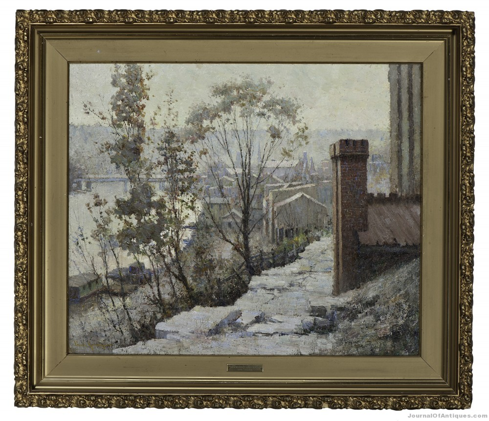Paul Sawyier painting, $89,450, Cowan's Auctions
