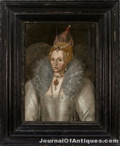 Ken's Korner: Queen Elizabeth I portrait from 1592