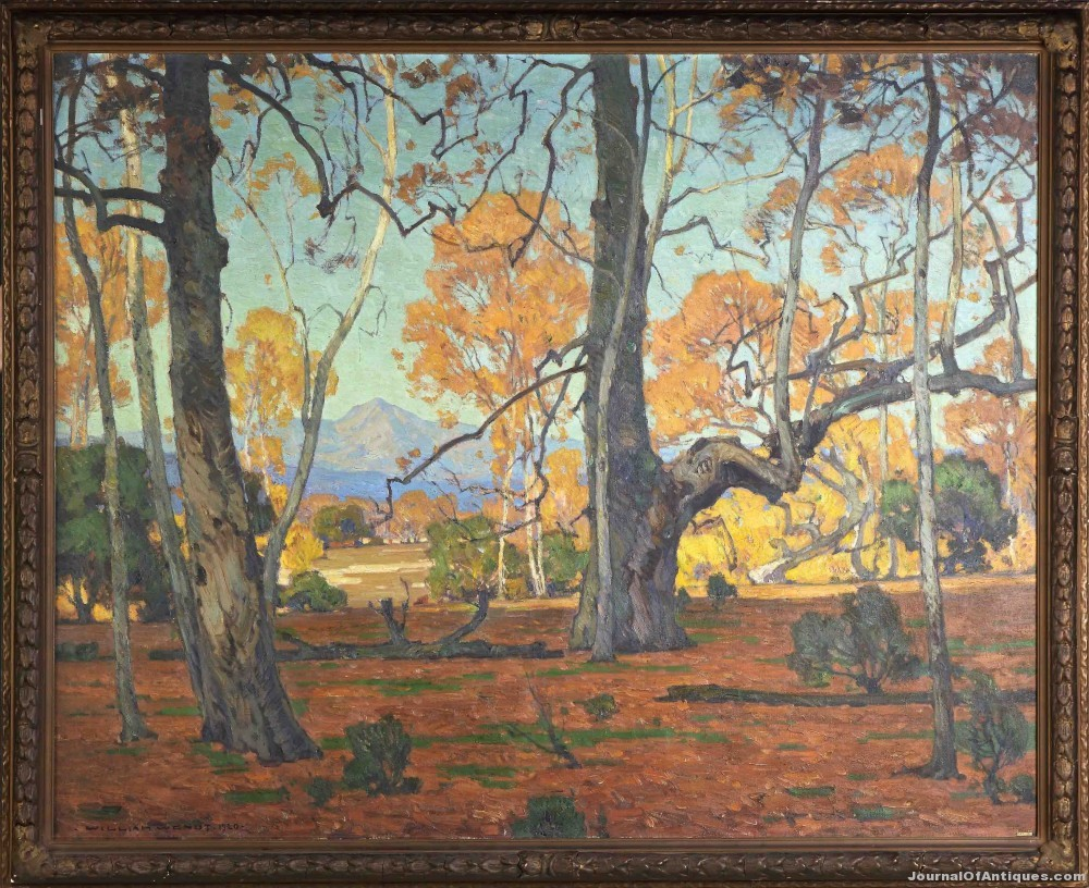 William Wendt painting, $299,000, Cottone Auctions