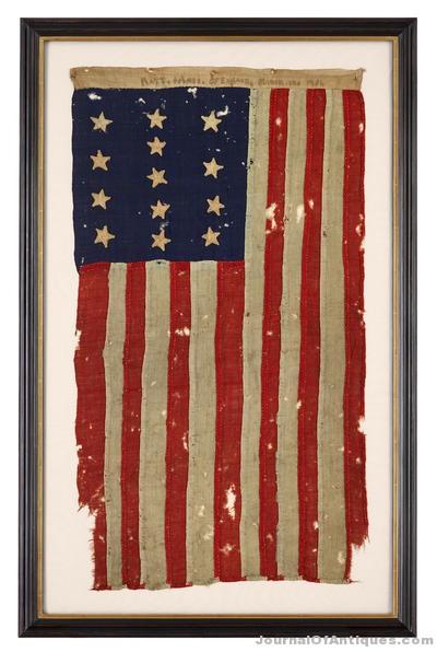 13-state U.S. flag, $212,500, Freeman's
