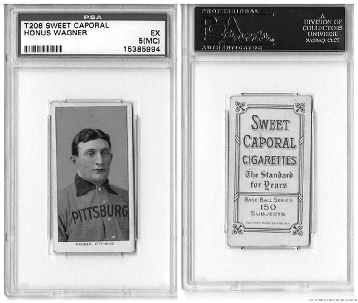 Ken's Korner: 1909 T206 Honus Wagner card sells for $2.1 million