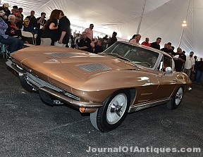 1963 Corvette coupe, $260,000, Vicari Auction