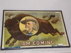 Buffalo Bill poster, $18,975, Philip Weiss