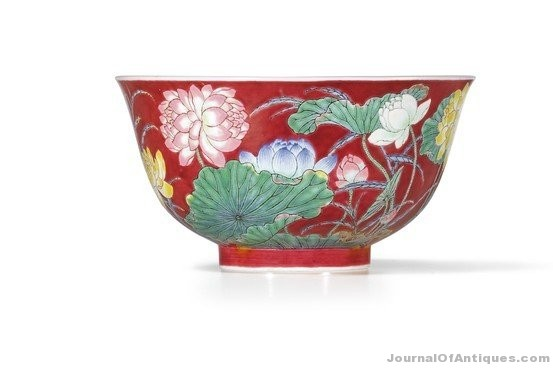 Ken's Korner: Chinese lotus bowl sells for $9.5 million