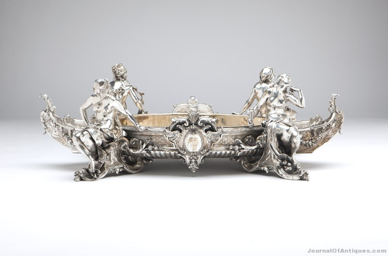Figural centerpiece, $54,000, John Moran