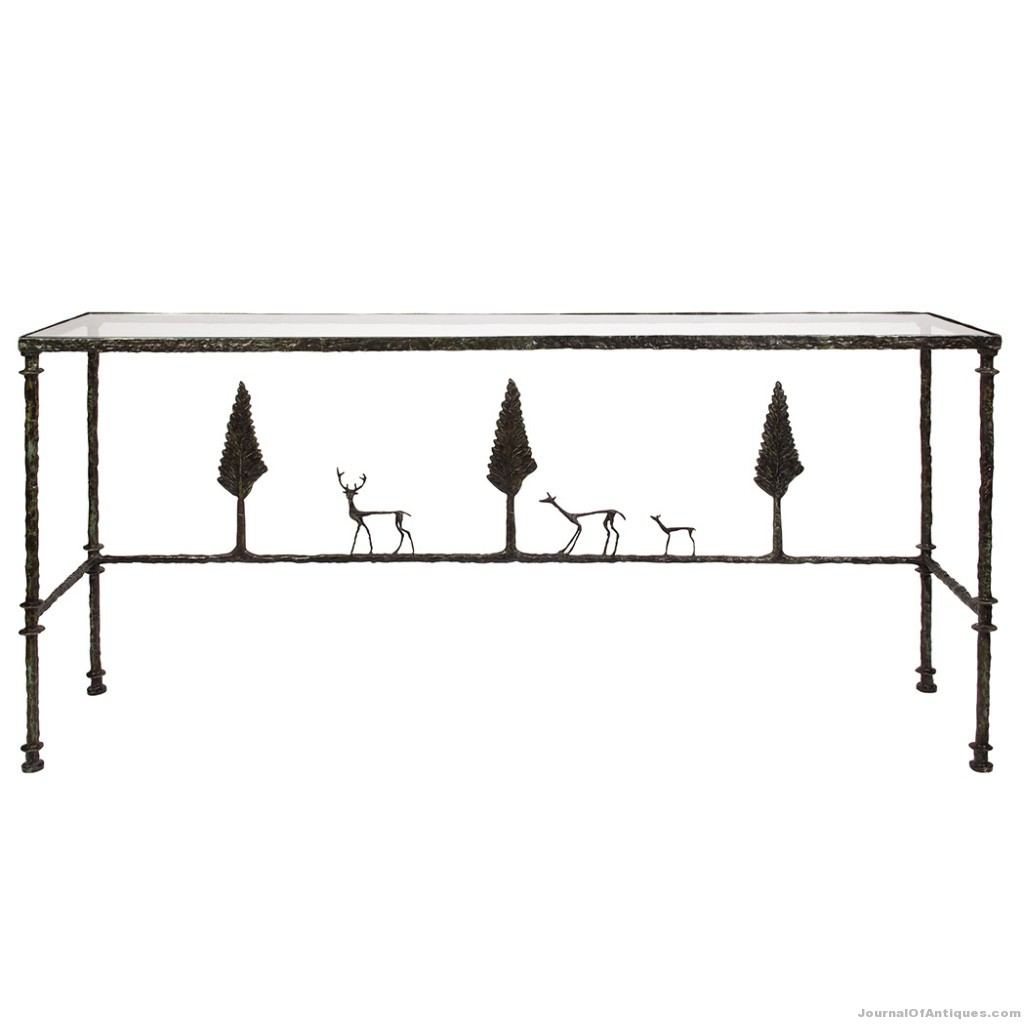 Giacometti console table, $1.76 million, Doyle NY