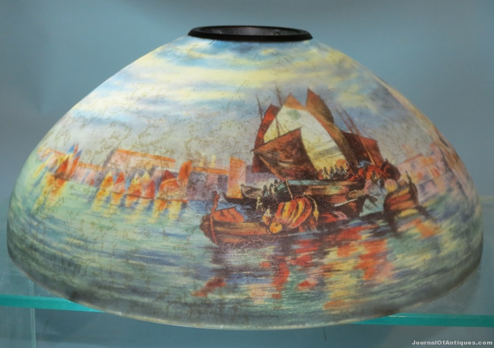 Handel lamp shade, $11,212, White Auctions