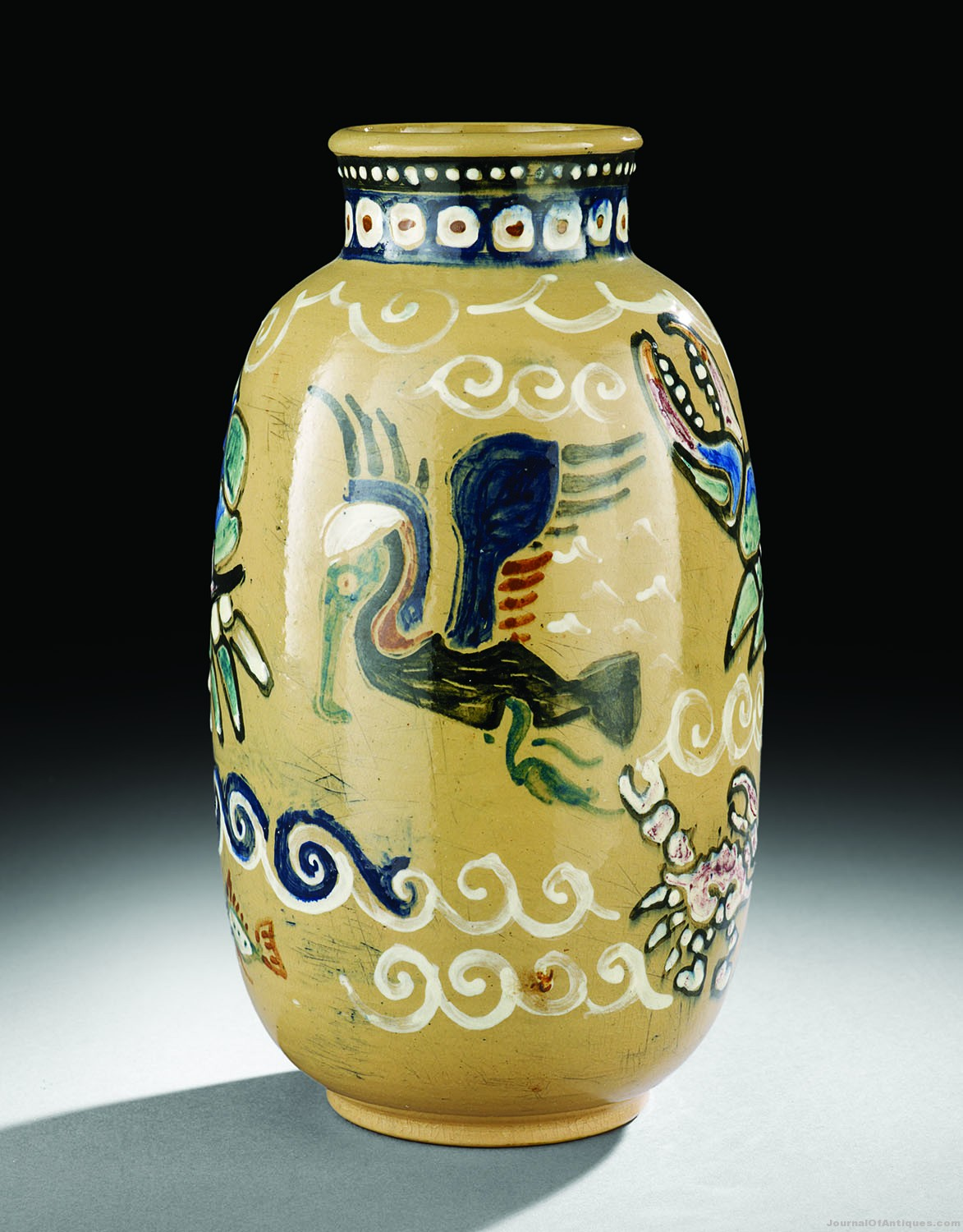 Shearwater Pottery vase, $31,980, New Orleans Auction
