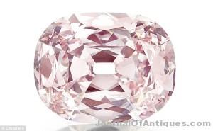 The Princie Diamond, $39.3 million, Christie's