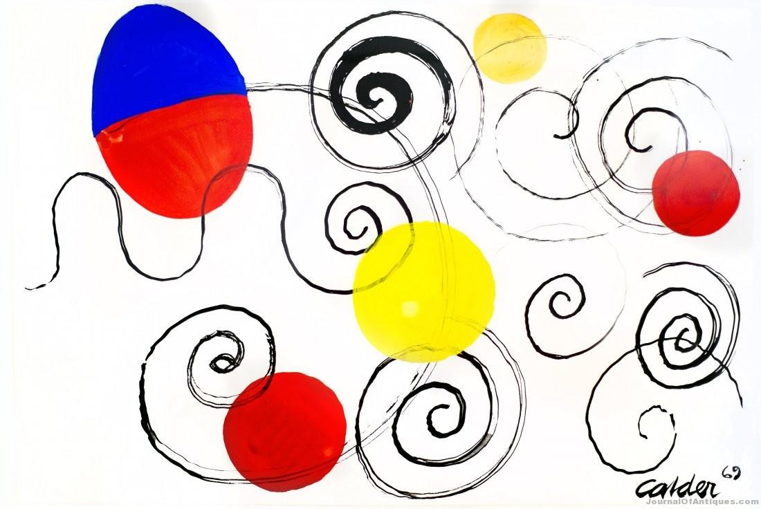 Alexander Calder work, $114,000, A. B. Levy's
