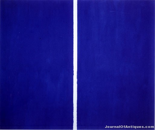 Barnett Newman painting, $43.85 million, Sotheby's