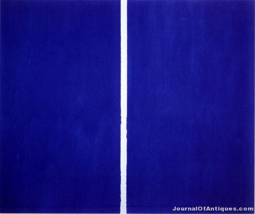 Barnett Newman painting, $43.85 million, Sotheby's