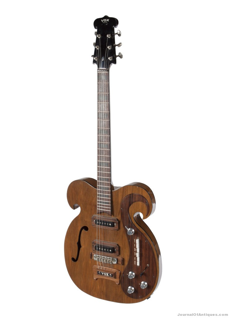 Beatles-played guitar, $408,000, Julien's Auctions
