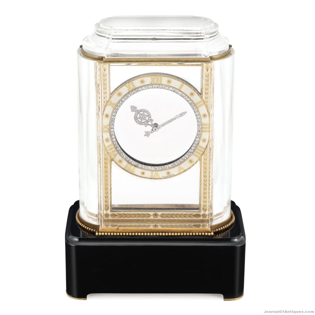 Cartier Mystery Clock, $515,000, Doyle New York