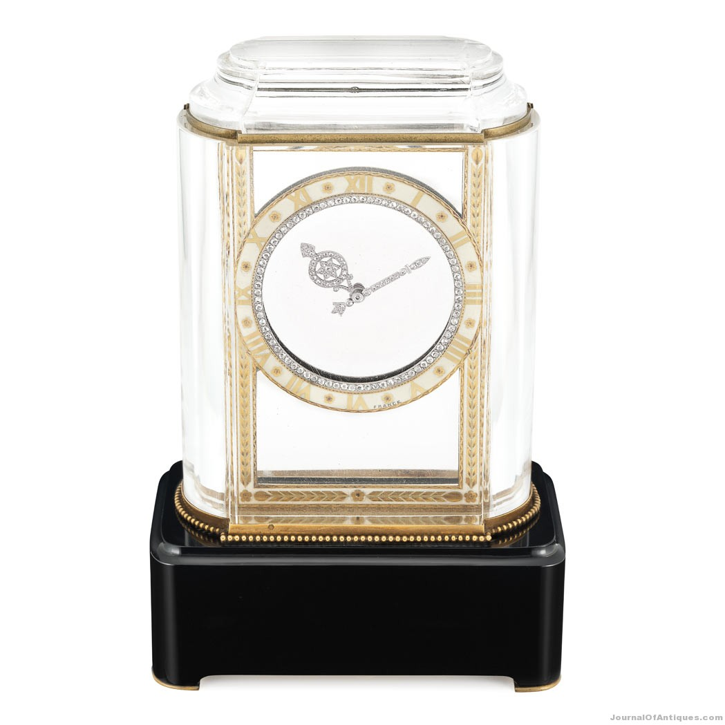 Cartier Mystery Clock, $515,000, Doyle New York