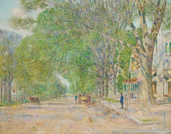 Childe Hassam painting, $288,000, Shannon's