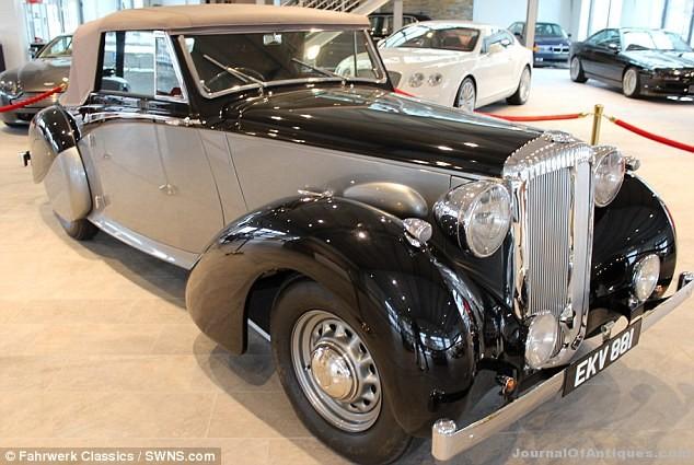 Ken's Korner: Churchill's WWII car is sold on eBay