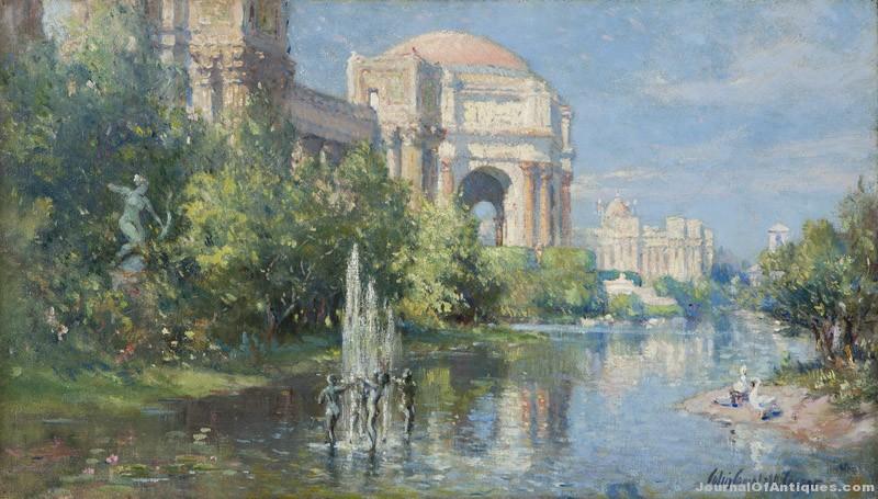 Colin Cooper painting, $90,000, John Moran