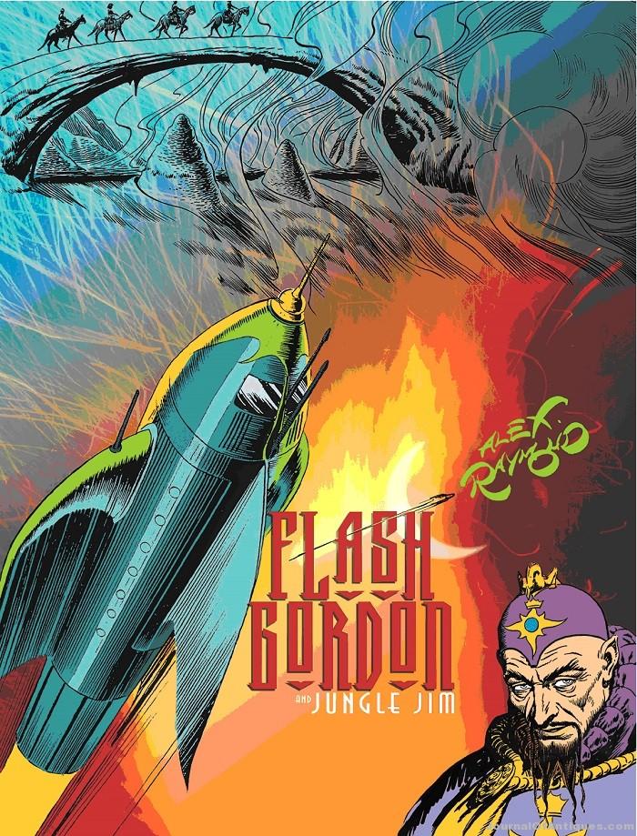 Alex Raymond and the Definitive Flash Gordon and Jungle Jim