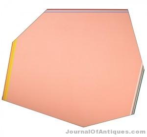 Kenneth Noland's Flown, $81,250, Rago Arts & Auction