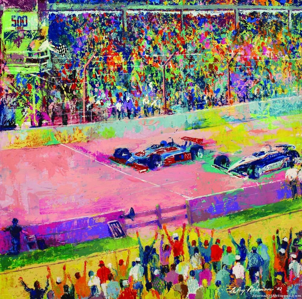 LeRoy Neiman painting, $94,300, Clars Auction