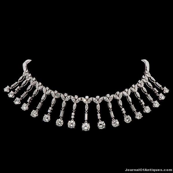 Marge Schott's necklace, $192,000, Cowan's Auctions
