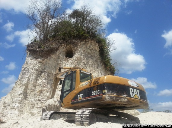Ken's Korner: Mayan pyramid bulldozed for fill