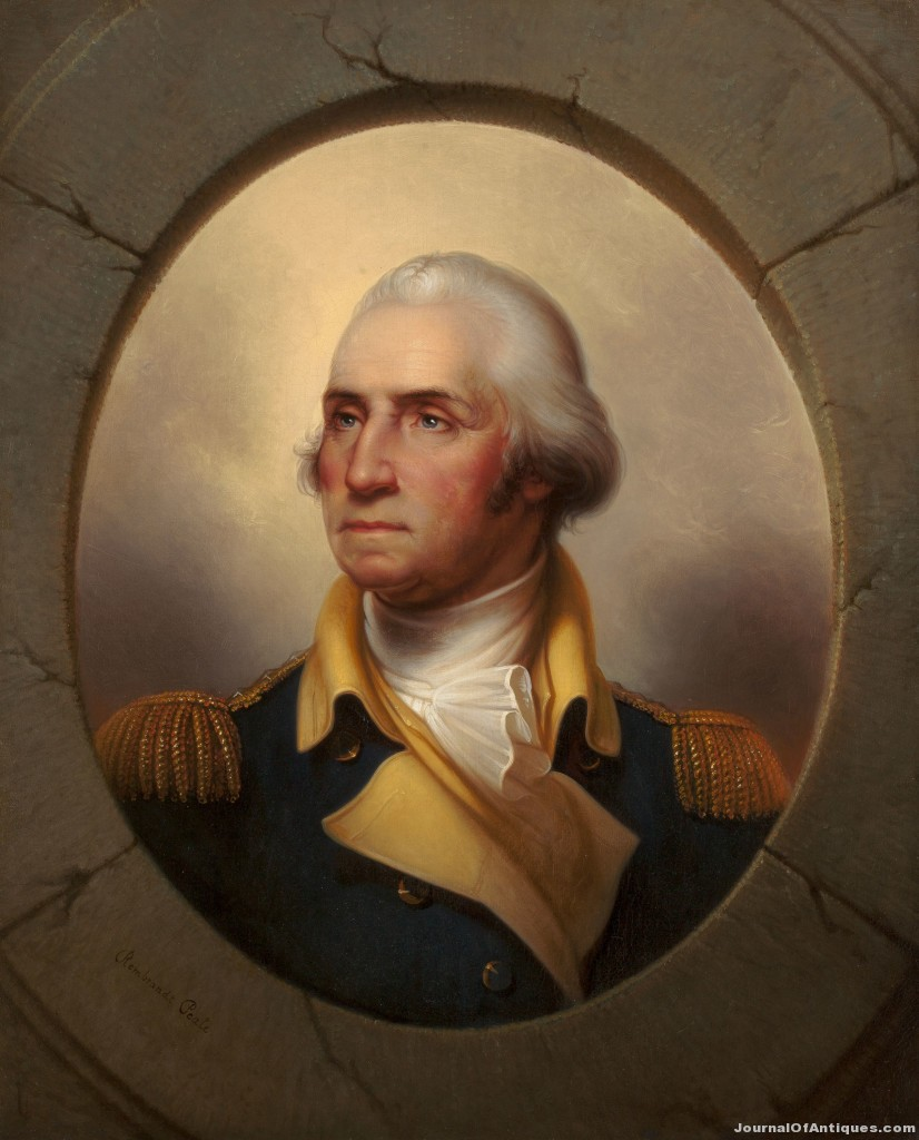 Portrait of Geo. Washington, $662,500, Heritage Auctions