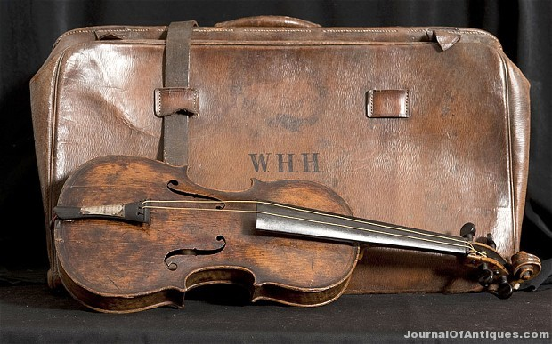Ken's Korner: Violin from the Titanic is on exhibit in the U.S.