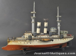 Marklin Battleship Maine, $64,900, Bertoia Auctions