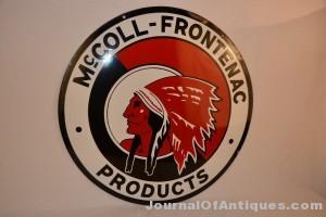 McColl-Frontenac sign, $11,550, Matthews Auctions