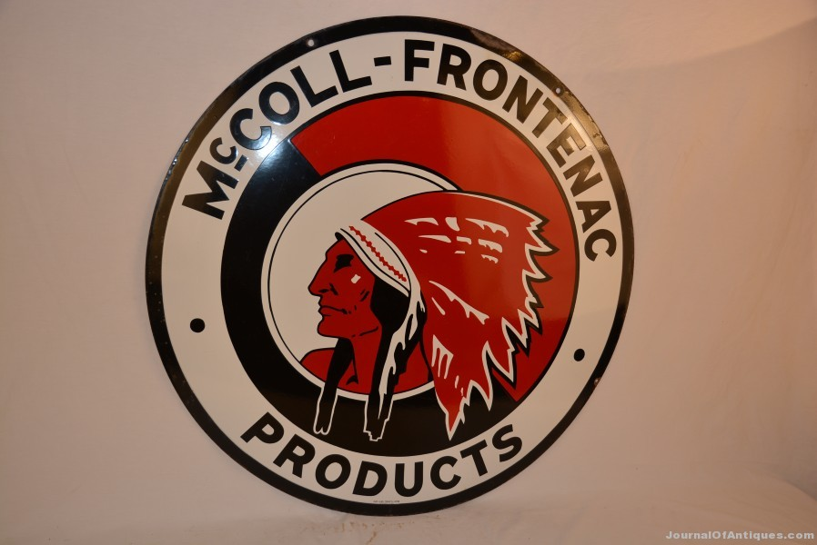 McColl-Frontenac sign, $11,550, Matthews Auctions