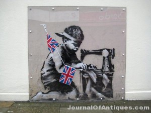 Ken's Korner: Mural by Banksy brings $1.1 million