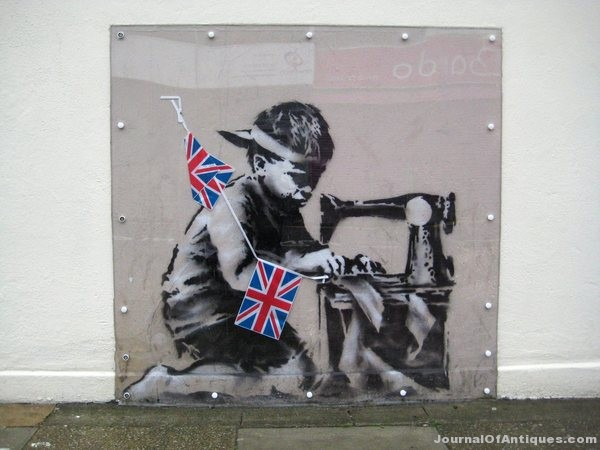 Ken's Korner: Mural by Banksy brings $1.1 million