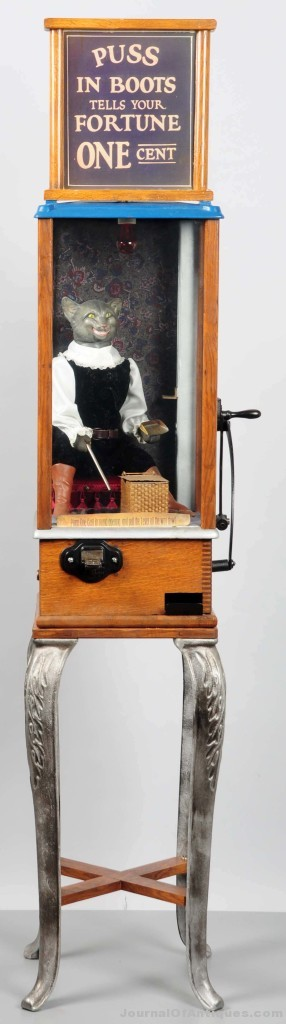 Puss in Boots Fortune Teller, $21,000, Morphy Auctions