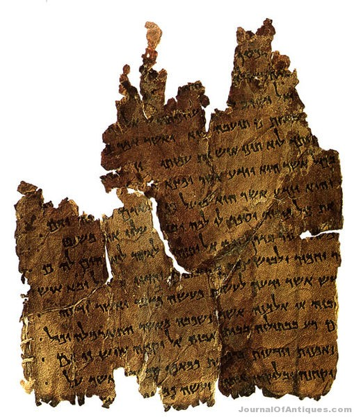 Ken's Korner: Pieces of Dead Sea Scrolls are for sale