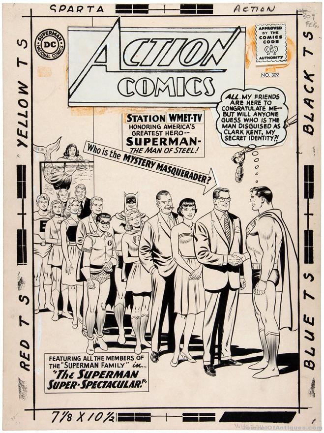 Original Comic Art Commands Continued Attention