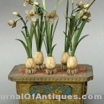 Chinese pot of flowers, $35,700, Clars Auction